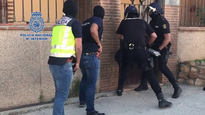 Agentes de la Policía Nacional en una imagen de archivo