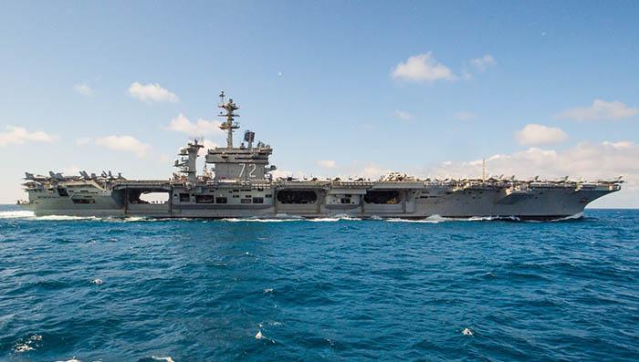 El portaaviones USS Abraham Lincoln