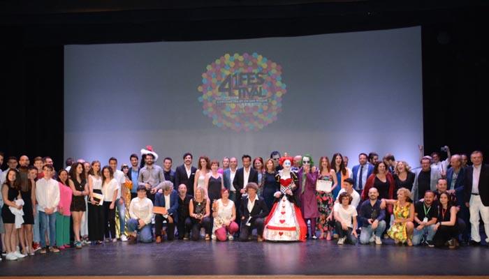 Entrega de premios de la última edición celebrada del Festival de Cortometrajes