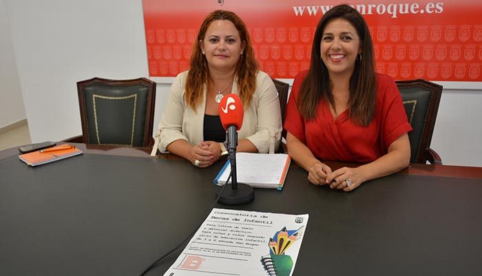 Mónica Córdoba y Belén Jiménez han presentado las becas