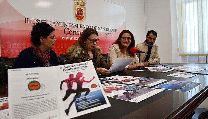 Fotografía de la presentación de la carrera en el Ayuntamiento de San Roque