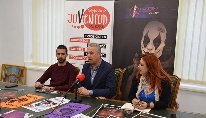 Presentación del evento en el Ayuntamiento de San Roque