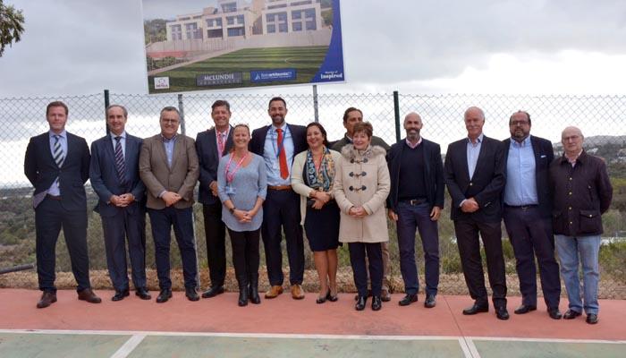 Autoridades y miembros del Colegio Internacional presentaron el proyecto