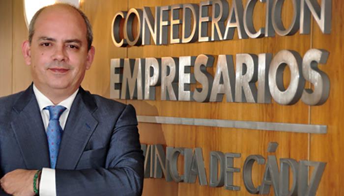 Javier Sánchez Rojas, presidente de los empresarios de la provincia. Foto CEC