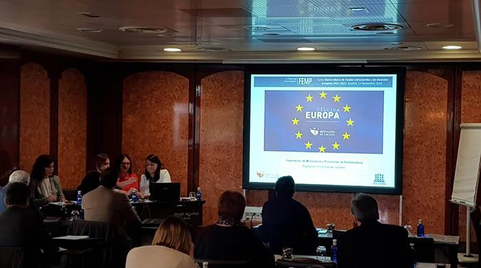 Jornadas de la FEMP sobre los fondos europeos