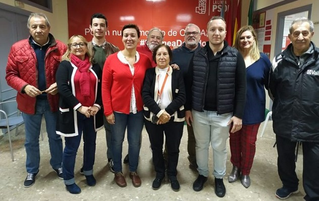 La ejecutiva del PSOE de La Línea de la Concepción