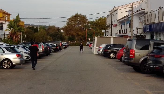 Una de las avenidas de Pueblo Nuevo