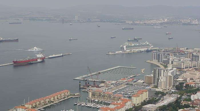Puerto de Gibraltar en una imagen de archivo. Foto NG