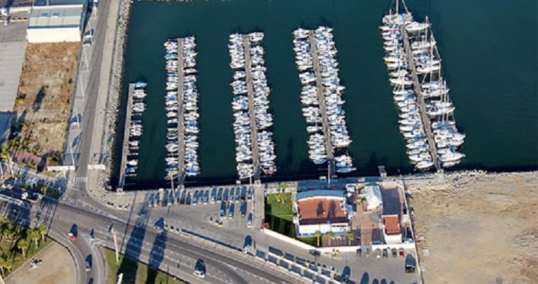Imagen aérea del Puerto Deportivo de Algeciras
