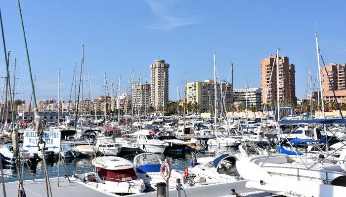 Uno de los puertos de la red Marinas de Andalucía