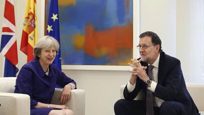 Rajoy May reunion España Moncloa 2017