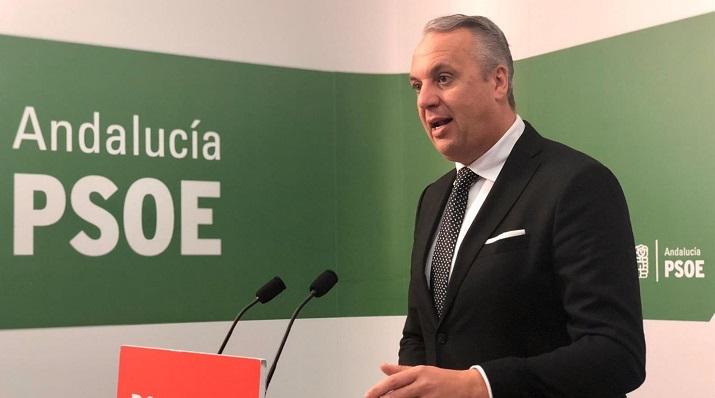 Juan Carlos Ruiz Boix, vicesecretario general del PSOE en la provincia