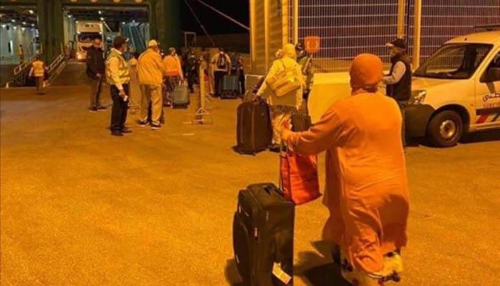 Repatriación desde Marruecos a Gibraltar. Foto InfoGibraltar.