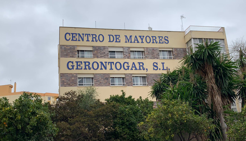 Fachada de la Residencia Miramar de Algeciras. Foto NG