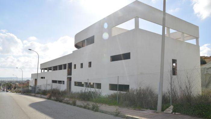 Imagen de la estructura que se convertirá en la nueva sede de la residencia