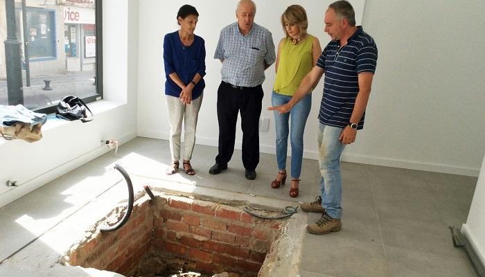 Preparan la restauración de los restos arqueológicos en la calle Juan Morrison