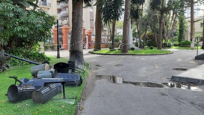 La zona ya se encuentra acordonada. Foto: lalínea.es