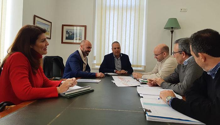 Imagen de la reunión con Adif