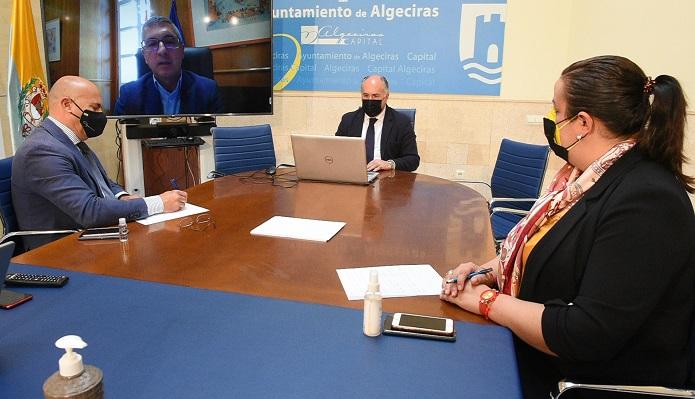 Landaluce, presente en una reunión sobre la protección de la costa