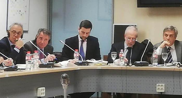 Vista parcial de los asistentes a la reunión de Madrid