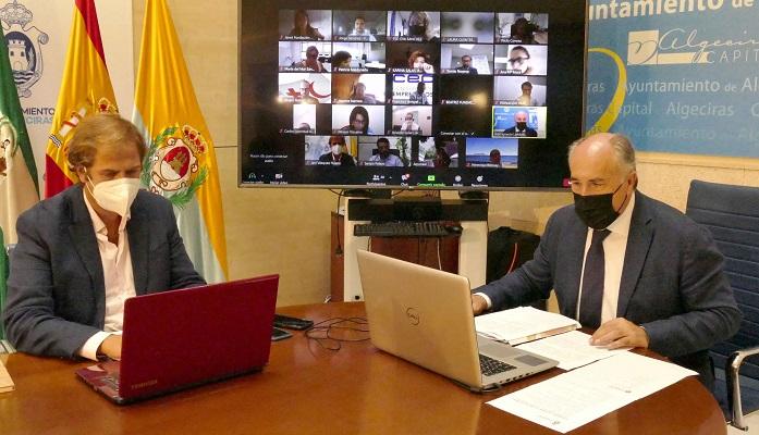 Presentada la línea de ayudas para la contratación de jóvenes en Algeciras