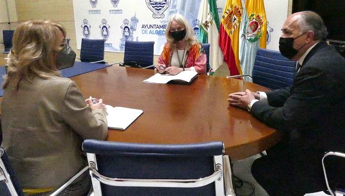 La Junta valora las ayudas en Cultura y Patrimonio en Algeciras
