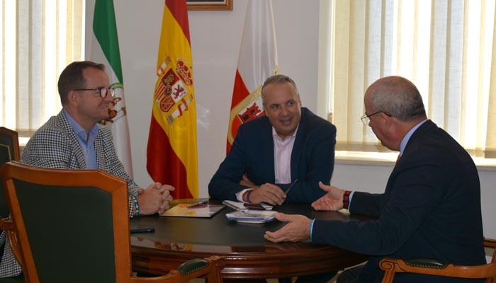 Imagen de la reunión celebrada en el Ayuntamiento de San Roque