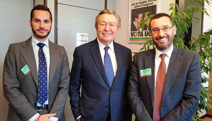 Reunión con el europarlamentario español Luis de Grandes