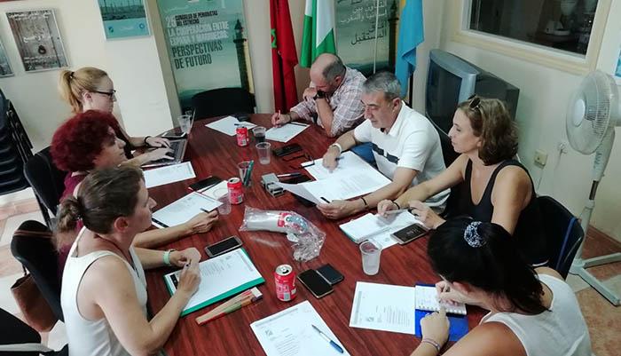 Reunión de la directiva de la APCG