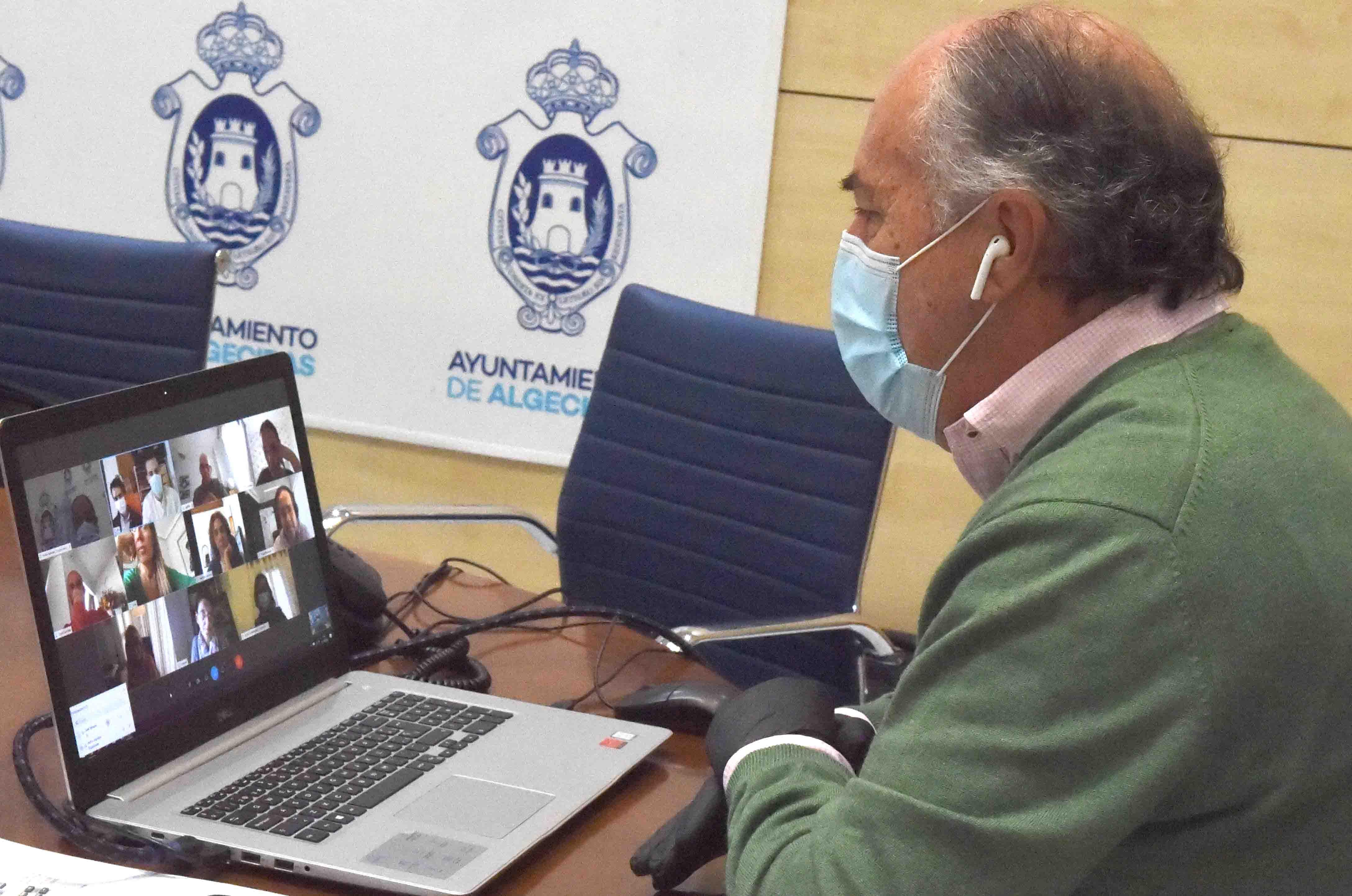 El centro de interpretación 'Paco de Lucía' en Algeciras sigue avanzando