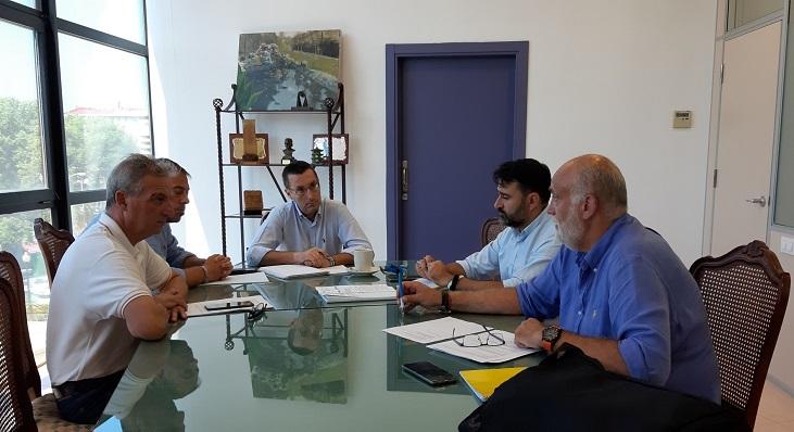 Franco ha convocado a varios de sus concejales para analizar el Plan Invierte