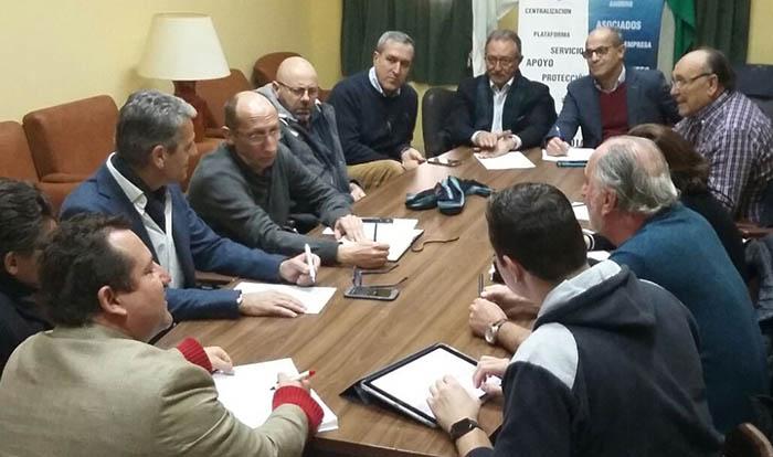 Reunión del Grupo Transfronterizo, en una imagen de archivo