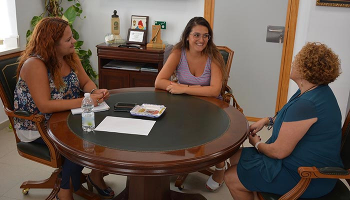 Un instante de la reunión celebrada en el Ayuntamiento de San Roque