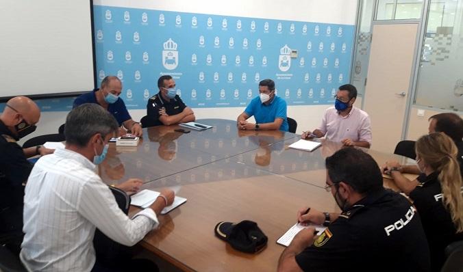 Esta mañana se ha coordinado el inicio del curso escolar en materia de seguridad