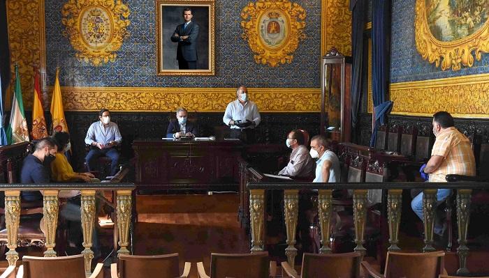 Landaluce presenta el Plan de Incorporación a la Actividad Presencial