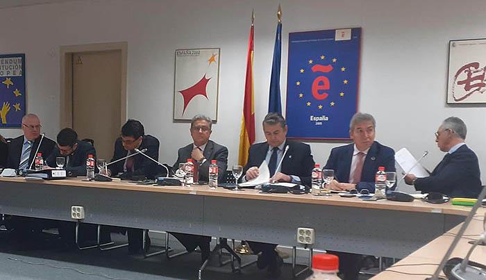 Una parte de los asistentes a la reunión hoy en Madrid