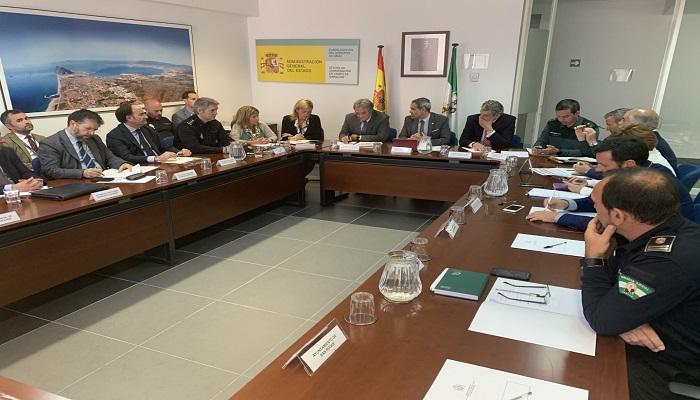 Reunión de todos los intervinientes en la Operación Paso del Estrecho de 2019