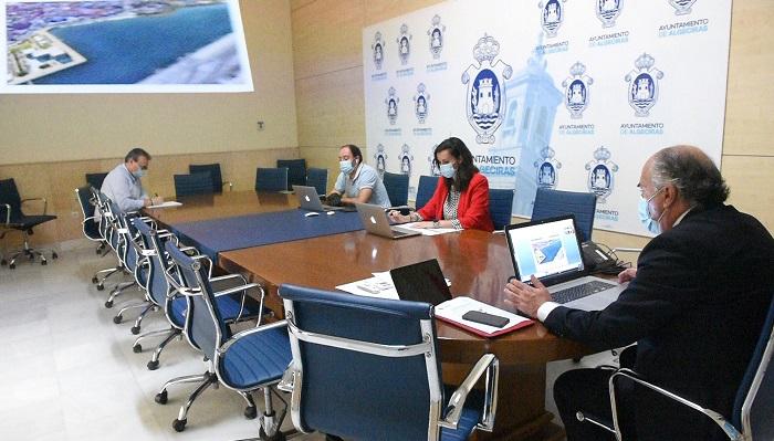 El proyecto lago marítimo de Algeciras sigue cogiendo forma
