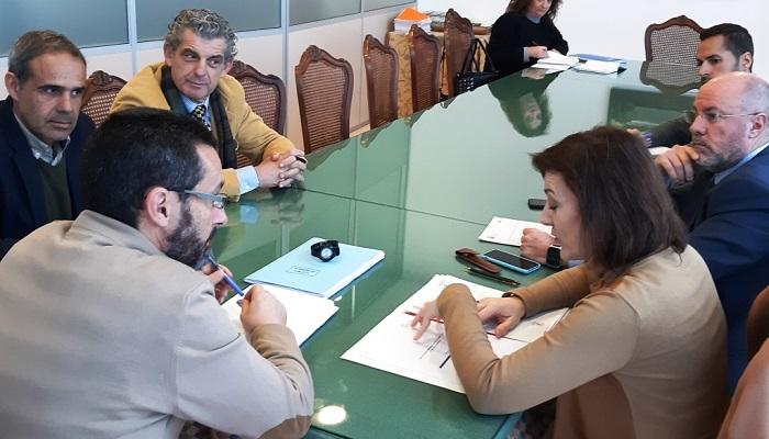 El subdelegado del Gobierno y el alcalde de La Línea han mantenido una reunión