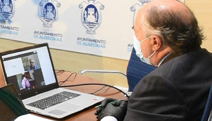 Landaluce se reúne de forma telemática con la Plataforma Andalucía Bay 2030