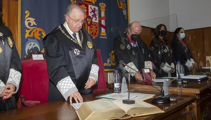 Toma de posesión de José Blas Fernández. Foto: Rocío Hernández.