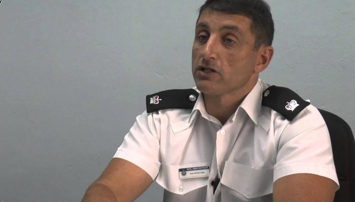 Richard Ullger, el nuevo comisario