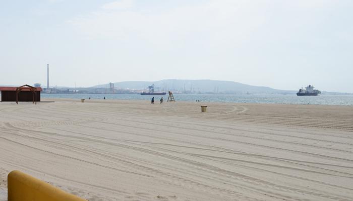 Imagen de la playa del Rinconcillo