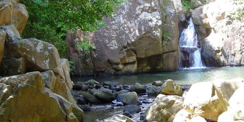 El Río de la Miel, en Algeciras