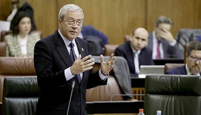 Rogelio Velasco es el consejero de Economía de la Junta de Andalucía