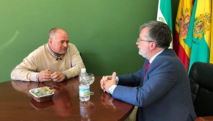 El alcalde de Los Barrios y el delegado de Exteriores