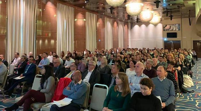 Asistentes al seminario sobre impuestos organizado por EY Gibraltar