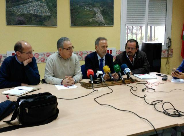 Salvador de la Encina, en rueda de prensa