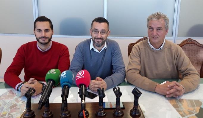 Mario Fernández, Juan Franco y Momo Valle