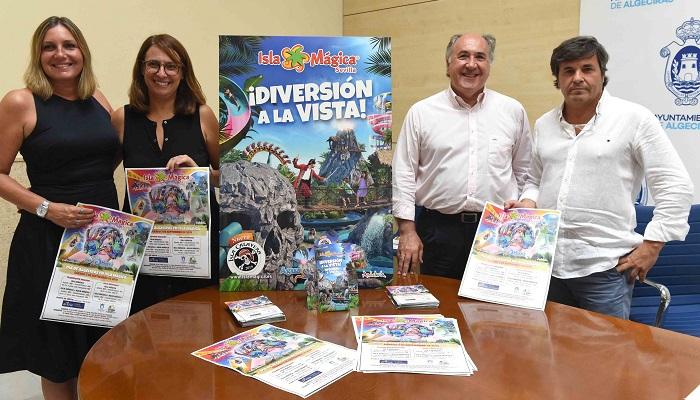 Isla Mágica celebrará el 7 de septiembre el Día de Algeciras